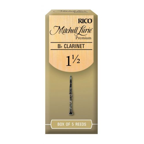 D'ADDARIO - RICO RICO MITCHELL LURIE BB CLARINET REEDS 1.5