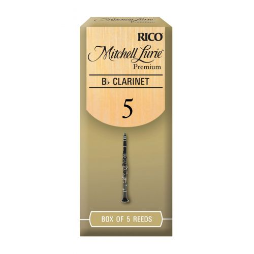 D'ADDARIO - RICO RICO MITCHELL LURIE BB CLARINET REEDS 5