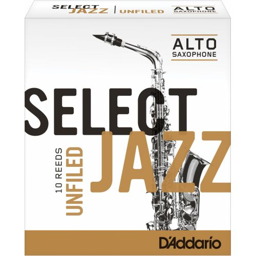 D'ADDARIO - RICO SELECT JAZZ UNFILED ALTO 3H