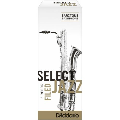 D'ADDARIO - RICO SELECT JAZZ FILED BARITONE 4H