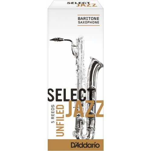 D'ADDARIO - RICO SELECT JAZZ UNFILED BARITONE 4M