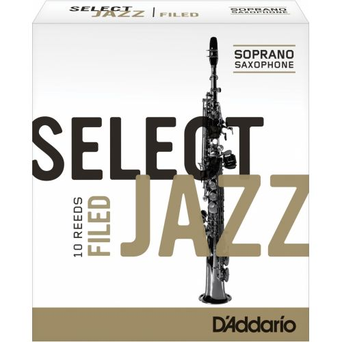 D'ADDARIO - RICO SELECT JAZZ FILED SOPRANO 4M