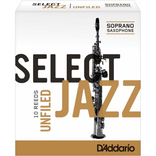D'ADDARIO - RICO SELECT JAZZ UNFILED SOPRANO 4S