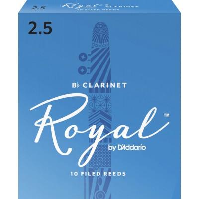 D'ADDARIO - RICO RICO ROYAL BB CLARINET REEDS 2.5