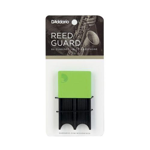D'ADDARIO - RICO SAX REED GUARD - GREEN
