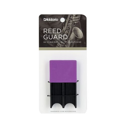 D'ADDARIO - RICO SAX REED GUARD - PURPLE