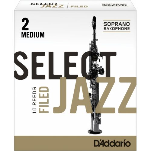 D'ADDARIO - RICO SELECT JAZZ UNFILED SOPRANO 2M