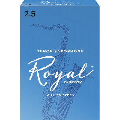 D'ADDARIO - RICO RICO ROYAL TENOR SAX REED 2.5