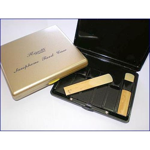 RIGOTTI BLACK PLASTIC CASES FOR SINGLE REEDS CLARINET