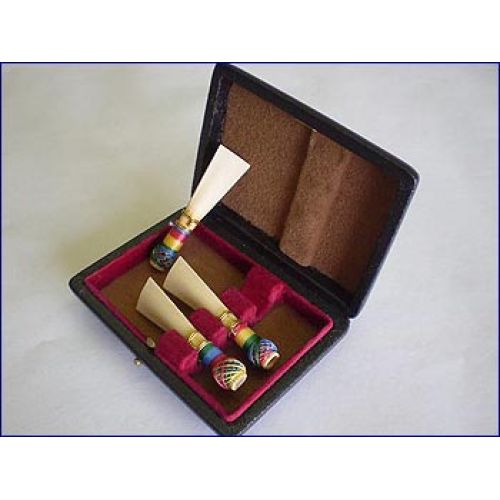 RIGOTTI CASES FOR DOUBLE REEDS BASSOON 3 REEDS