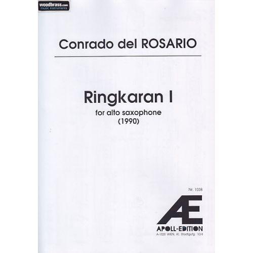 APOLL EDITION DEL ROSARIO C. - RINGKARIAN - SAXOPHONE ALTO
