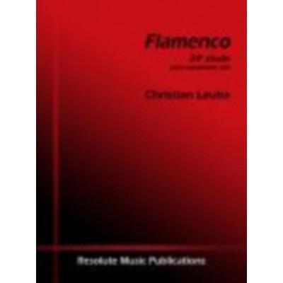 ROBERT MARTIN LAUBA CHRISTIAN - FLAMENCO, ETUDE 24 POUR SAXOPHONE ALTO