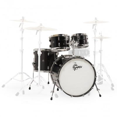 GRETSCH DRUMS RN2-E8246-PB - RENOWN MAPLE 22/10/12/16 - PIANO BLACK