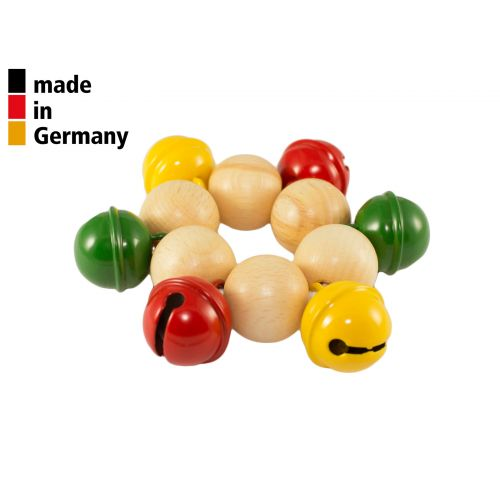 ROHEMA WRIST BELL - 6 COLORED BELLS - 1+