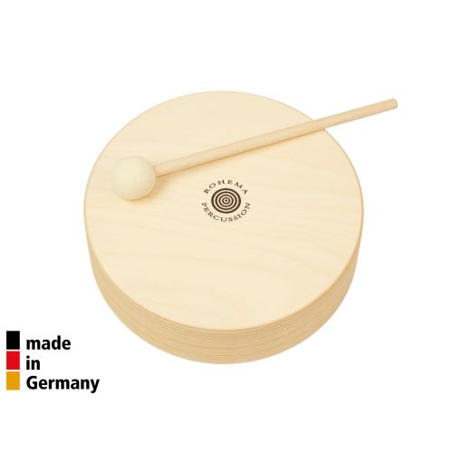 ROHEMA 20CM WOODEN TOM + 1 BEATER - 3+