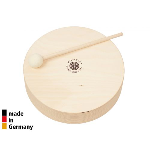 ROHEMA 22CM WOODEN TOM + 1 BEATER - 3+