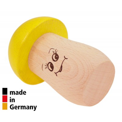 ROHEMA MUSHROOM SHAKER YELLOW - HIGH PITCH - 1+
