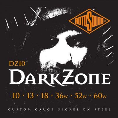 ROTOSOUND ROTO DZ10 DARK ZONE NICKEL SPECIALTY SET 1060
