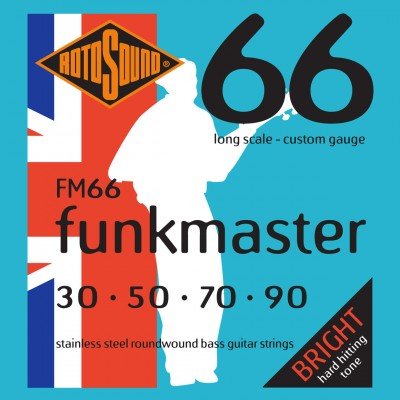 ROTOSOUND SWING BASS 66 FM66 STAINLESS STEEL FUNKMASTER 3090