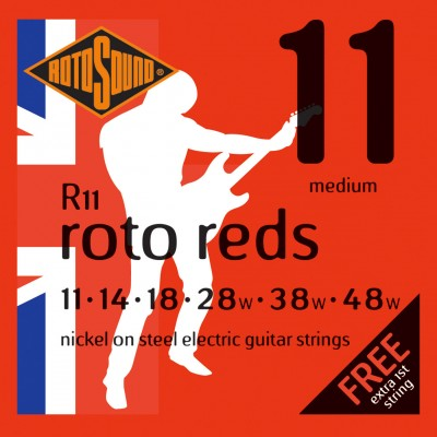 ROTOSOUND ROTO R11 NICKEL MEDIUM 1148