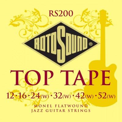 ROTOSOUND ROTO RS200 MONEL FLATWOUND 1252
