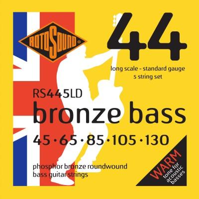 ROTOSOUND BRONZE BASS PHOSPHOR BRONZE 5 STRINGS 45 65 85 105 130