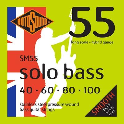 ROTOSOUND SOLO BASS 55 SM55 LINEA PRESSURE WOUND 40100