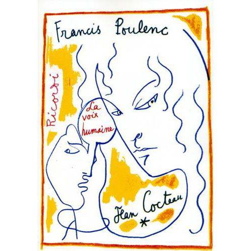 RICORDI POULENC F. - VOIX HUMAINE - CHANT ET PIANO