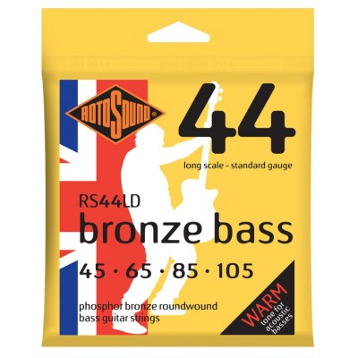 ROTOSOUND BRONZE BASS PHOSPHOR BRONZE STANDARD 45 65 85 105