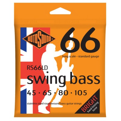 ROTOSOUND SWING BASS STAINLESS STEEL STANDARD 45 65 80 105
