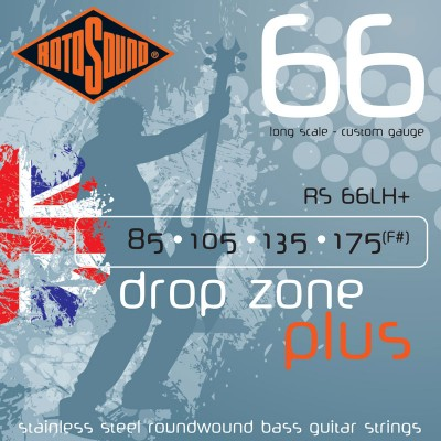 ROTOSOUND SWING BASS STAINLESS STEEL DROP ZONE 85 105 135 175