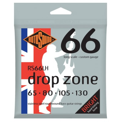 ROTOSOUND SWING BASS STAINLESS STEEL DROP ZONE 65 80 105 130