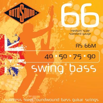 ROTOSOUND SWING BASS STAINLESS STEEL DIAPASON MOYEN 40 50 75 90