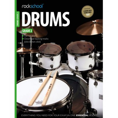 ROCK SCHOOL LIMITED ROCKSCHOOL DRUMS - GRADE 2 - DRUMS