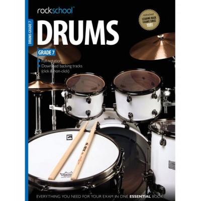 ROCK SCHOOL LIMITED ROCKSCHOOL DRUMS - GRADE 7 - DRUMS