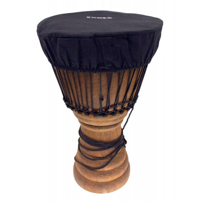 ROOTS PERCUSSION DJEMBE HAT HEAD PROTECTION Ø 35-38 CM COTTON - BLACK