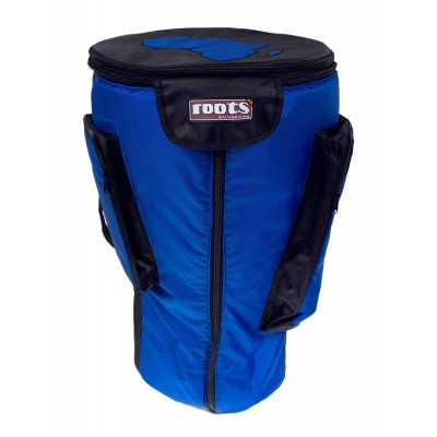 ROOTS PERCUSSION HOUSSE HEAVY DUTY DJEMBE 36CM X 67CM - BLEU