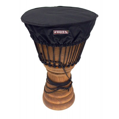 ROOTS PERCUSSION DJEMBE DELUXE HAT HEAD PROTECTION Ø 35-38 CM NYLON - BLACK