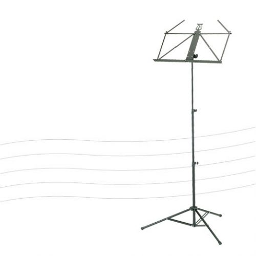 RUKA RUKA MUSIC STAND BLACK 37850 ULTRA LIGHT