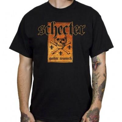 SCHECTER T-SHIRT SHECTER SKULL