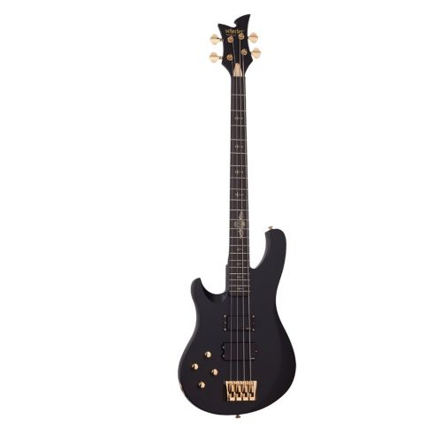 SCHECTER LEFT HANDED JOHNNY CHRIST SATIN BLACK