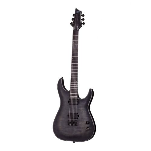 SCHECTER KEITH MERROW SIGNATURE 6 TRANS BLACKBURST SATIN