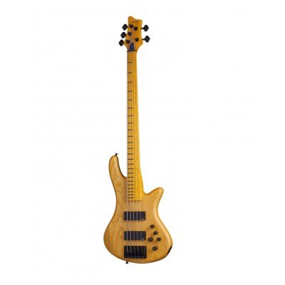 SCHECTER STILETTO SESSION-5 FL AGED NATURAL SATIN
