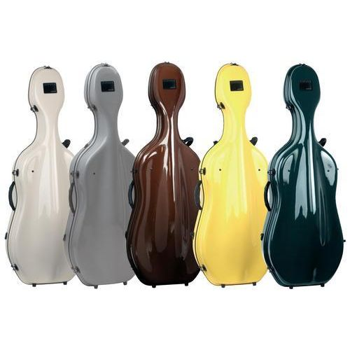 GEWA CELLO CASES IDEA FUTURA ANTHRACITE/RED