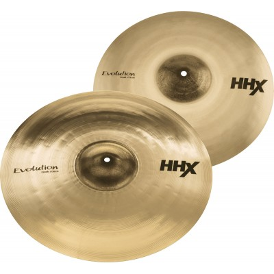 SABIAN 15004XEB - PACK HHX HARMONIQUE EVOLUTION CRASH 17