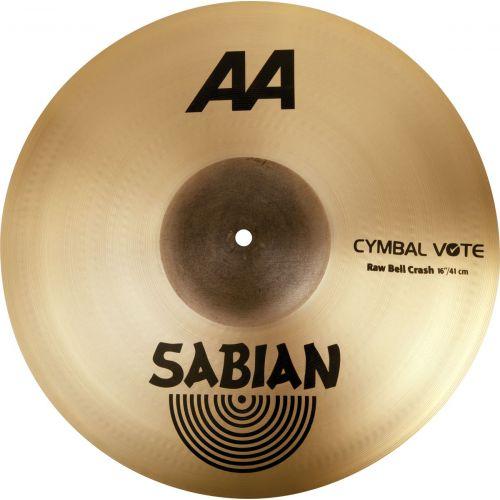 SABIAN 2160772 - AA RAW BELL CRASH 16