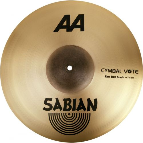 SABIAN 2180772 - AA RAW BELL CRASH 18 - CYBMAL VOTE