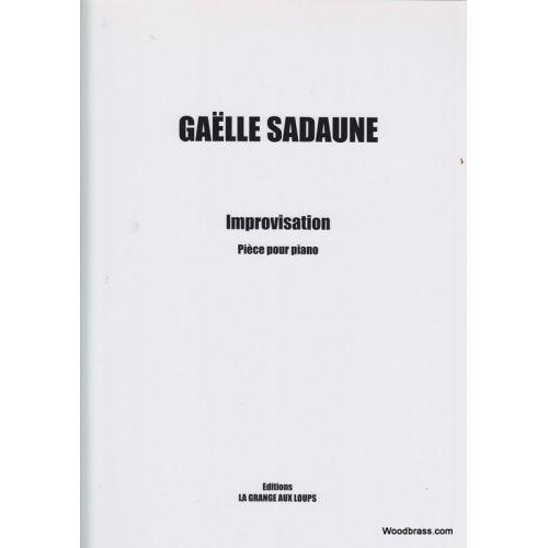 LA GRANGE AUX LOUPS SADAUNE GAELLE - IMPROVISATION - PIECE POUR PIANO