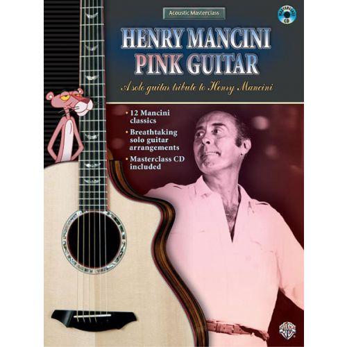 ALFRED PUBLISHING MANCINI HENRY - PINK GUITAR - GUITAR TAB