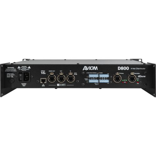 AVIOM SWITCH PRO16e 8 PORTS + DANTE
